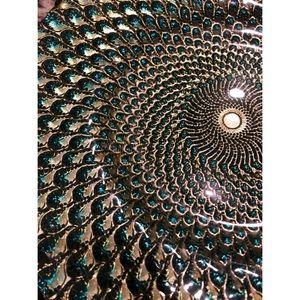 "Decorative ""Peacock"" Plate"